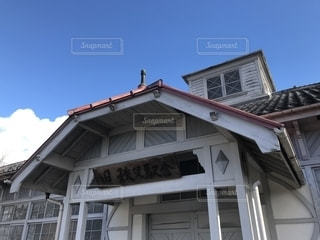 旧秩父駅舎の写真・画像素材[1696452]