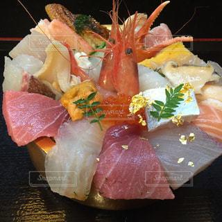 海鮮丼の写真・画像素材[2000247]