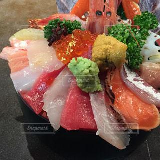 海鮮丼の写真・画像素材[2000310]