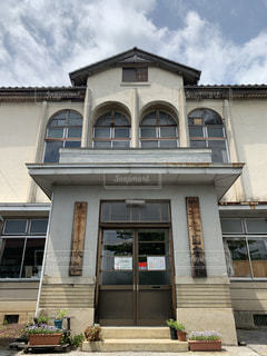 江北図書館の写真・画像素材[2123739]