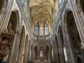 聖ヴィート大聖堂の写真・画像素材[2207809]