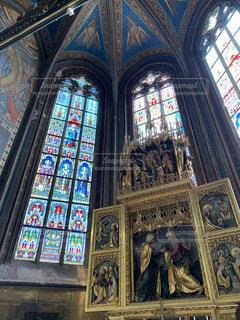 聖ヴィート大聖堂の写真・画像素材[2207856]
