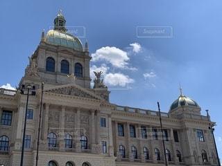 プラハ国立博物館の写真・画像素材[2221758]