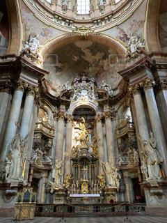 聖ミクラーシュ教会の写真・画像素材[2230818]