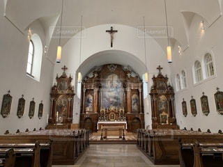 カプツィーナー教会の写真・画像素材[2268306]