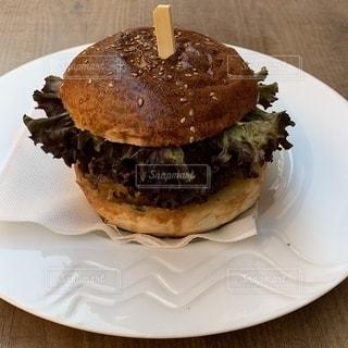 ハンバーガーの写真・画像素材[2268515]