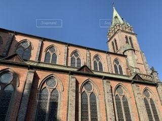 明洞大聖堂の写真・画像素材[2464384]