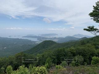 朝熊山頂展望台の写真・画像素材[3391797]