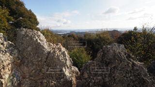 湖西連峰 仏岩の写真・画像素材[3998406]