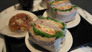 サンドイッチの写真・画像素材[4205697]