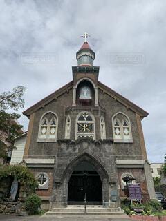カトリック小樽教会 富岡聖堂の写真・画像素材[4637777]