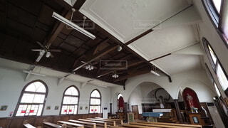 カトリック小樽教会 富岡聖堂の写真・画像素材[4637803]