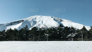 冬の御嶽山の写真・画像素材[1104203]