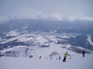 冬の白馬村 - No.1105500