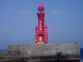 種子島の灯台の写真・画像素材[1105741]