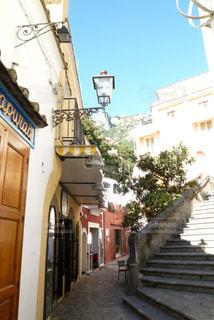 イタリア アマルフィの街路の写真・画像素材[1115115]
