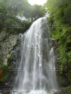 木曽御嶽山 清滝の写真・画像素材[1119777]