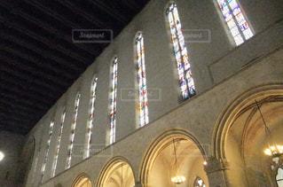 イタリアの教会のステンドグラスの写真・画像素材[1127558]