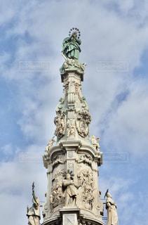 イタリア ナポリの塔の写真・画像素材[1127559]