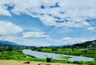 長野県飯田市天竜川の写真・画像素材[1135781]