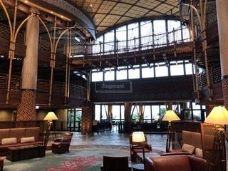 リホテルロビーの写真・画像素材[1105951]