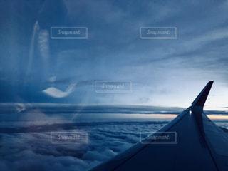 雲の上からの写真・画像素材[1116029]