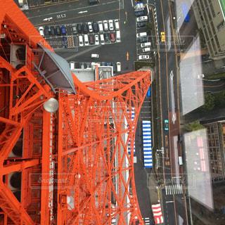 東京タワーを上から見てみた、、、の写真・画像素材[1104291]