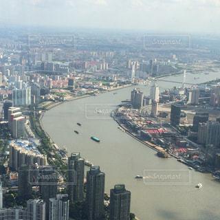 都市の景色 from上海タワーの写真・画像素材[1104361]