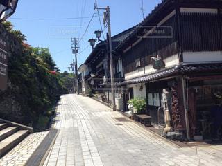 富山の木彫りの街の写真・画像素材[1104386]