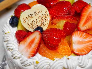 バースデーケーキの写真・画像素材[1104691]