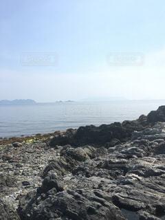 岩場の海の写真・画像素材[1157712]