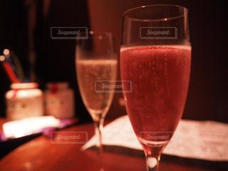 ワインのグラスの写真・画像素材[1115932]