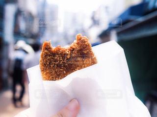 食べ歩きの写真・画像素材[1310925]