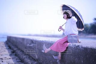 佐久島 ポートレートの写真・画像素材[1180195]