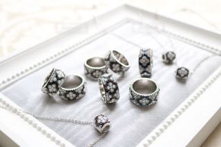 グルーデコの指輪の写真・画像素材[1106416]