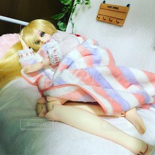 まだ眠いよ~の写真・画像素材[1106778]