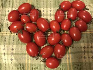 ハートミニトマトの写真・画像素材[1120954]