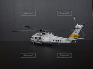 ヘリコプターの模型の写真・画像素材[1623905]
