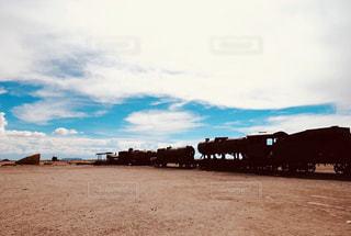 砂浜のビーチの写真・画像素材[1108551]