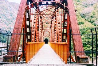 廃線跡地の橋の写真・画像素材[1108553]