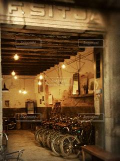 バルセロナのレンタサイクル ショップの写真・画像素材[1111771]