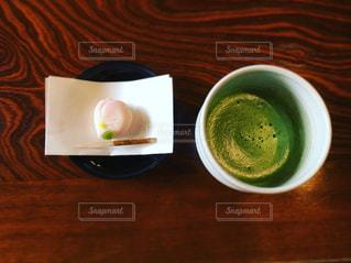 クローズ アップ食べ物の皿とコーヒー カップの写真・画像素材[1114440]
