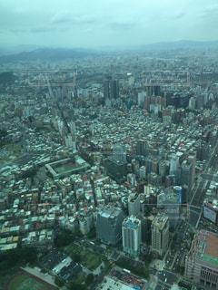 台湾の101からの景色の写真・画像素材[1123264]