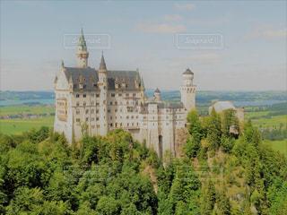 ノイシュバンシュタイン城!!の写真・画像素材[1119332]