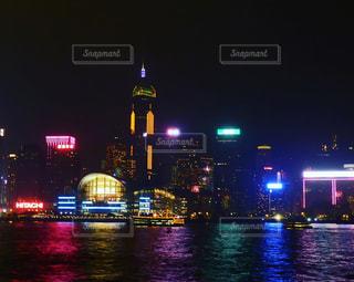香港の夜景の写真・画像素材[1110172]