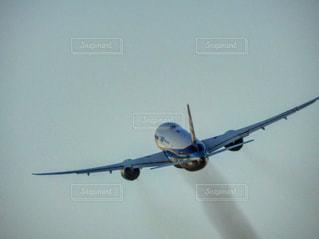 離陸する飛行機の写真・画像素材[1144454]