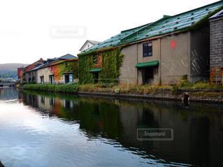 小樽運河の写真・画像素材[3123056]