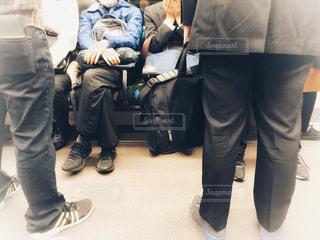 満員電車の風景の写真・画像素材[1119881]