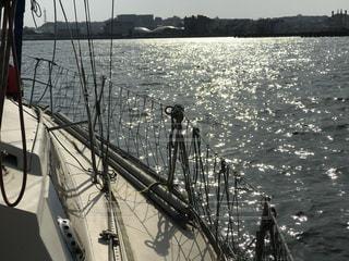 夕暮れの海の写真・画像素材[1111253]