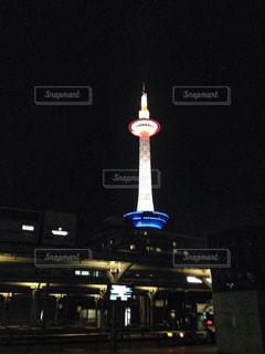 京都タワーライトアップの写真・画像素材[1118257]